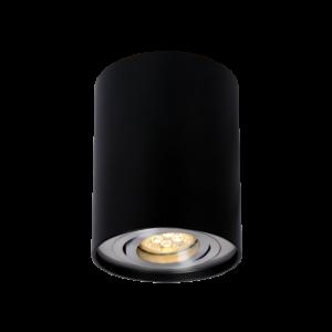 CHLOE GU10 IP20 okragła czarna