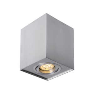 CHLOE GU10 IP20 kwadratowa srebrna